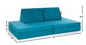Nugget Comfort Kids Play Couch Atlantis In Hand Limited Edition Fast Free Ship