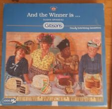 COMPLETE Gibsons Jigsaw Puzzle 1000 pieces.   And the Winner is.......