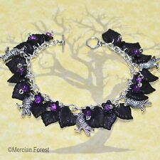An Unkindness of Ravens Gothic Bracelet - Handmade Gothic Jewellery, Goth, Crows