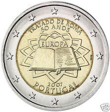 manueduc   PORTUGAL  2 EUROS  2007 TRATADO DE ROMA  NUEVOS