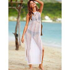 Suzanjas Hippie-Strandkleid in weiß Größe M-L