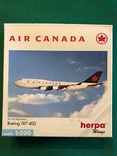 Boeing 747-400 Air Canada. Herpa Wings 1:500 - Art. nr. 500739