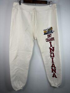 VINTAGE Champion Indiana 1987 NCAA  Sweatpants Men's Adult Medium