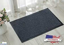 Large Front Door Welcome Mat Floor Entrance Outdoor Home Heavy Duty Rug Doormat