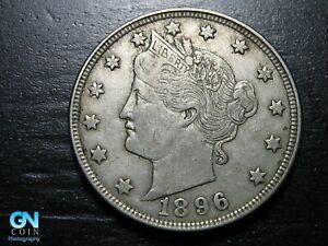 1896 Liberty V Nickel  --  MAKE US AN OFFER!  #K0284