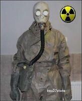 NBC HAZMAT SUIT RADIATION SARIN CHEMICAL SURPLUS CHERNOBYL FALLOUT