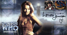 """Doctor Who """"Horror Of Fang Rock"""" Collectors Stamp Cover - Signed LOUISE JAMESON"""