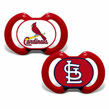 St Louis Cardinals Pacifiers 2 Pack Set Infant Baby Fanatic Bpa Free Mlb