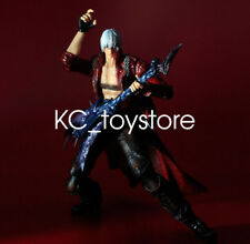 """New Play Arts Kai Devil May Cry 3 Dante PVC 10"""" Statue Action Figure Ctazy Toys"""