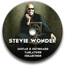 STEVIE WONDER POP ROCK GUITARE & CLAVIER TABLATURE LIVRE MUSICAL CD DU LOGICIEL