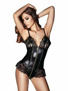Ann Summers Sexy Tasha Teddy in Black NWT
