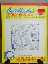 Aunt Marthas Hot Iron Transfers 3750 Sassy Squirrel Tea Towels Day of the Week