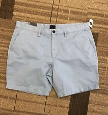 EH04 Men's GAP 100% Cotton Light Blue Khaki SHORTS Size 40 NWT $35