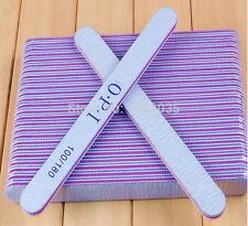 3x OPI 100/180 Grit Gel Nail Files Art Care Manicure Makeup Tool Acrylic Buffer