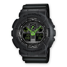 CASIO G-SHOCK GA-100 C-1A3ER DA UOMO, IN NERO
