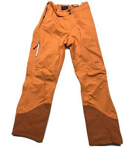 Fjallraven Bibs Hydratic Orange Ski Trousers Pants Damen Women's  S