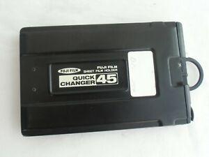 FUJI (fujifilm) QUICK CHANGE 45 film back (holder) for 4x5 inch cameras