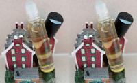 2 bottles CREED AVENTUS - Man's Fragrance - Perfume Oil UNCUT Roll-on 0.3oz 10ml