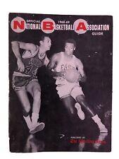 1968/69 National Basketball Association NBA Guide Oscar Robertson West Cover