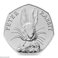 2016 50P COIN PETER RABBIT UNCIRCULATED RARE FIFTY PENCE BEATRIX POTTER ^