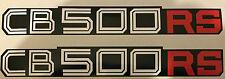 HONDA cb500rs CB250RS latéral Panneau décalques