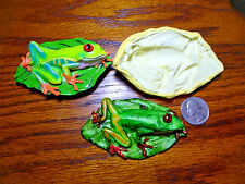 Frog Silicone Mold fondant gumpaste chcolate polymer clay 502