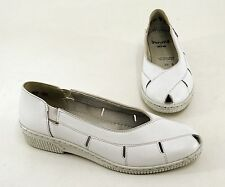 Pantoufles JENNY by ara Chaussures Basses Ballerines Véritable Cuir Offwhite T. 4,5 = 37,5 G