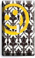 Sherlock Holmes Wallpaper Happy Face Pattern Single Light Switch Cover Art Decor