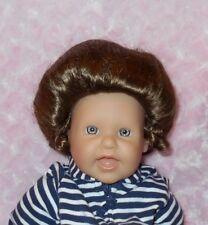 Kemper GIBSON Wig Size 7/8~LT BROWN~Full Cap~Modacrylic Hair~Bun/Curly Ponytail