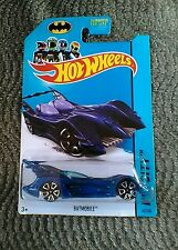 2014 Hotwheel BATMOBILE (62/250 Trap 5) HW CITY metallic blue.