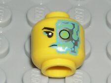 LEGO Yellow Head Female Girl Silver Eyepiece Cyborg Minifigure 71013
