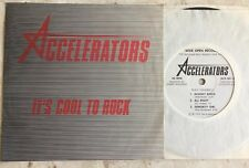 LA PUNK POWER POP KND 45 rpm ACCELERATORS on Wide Open lb COOL TO ROCK ep 1979