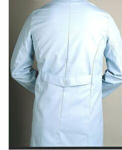 Lab Coat Male White Polyester/Cotton Size 50 Buttons