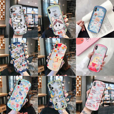 DISNEY CARTOON TRANSPARENTE VASO FUNDA CARCASA PARA IPHONE 6S 8 7 PLUS XR XS MAX
