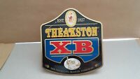 Vintage THEAKSTON XB  - Metal Pump Clip - Pub/Alcohol - Mancave Display.