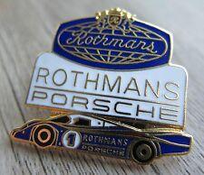 PORSCHE Pin / Pins:  PORSCHE 962 C ROTHMANS - emailliert - Rar!