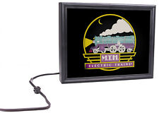 MTH Lighted Display Sign with what appears to be moving smoke 60-1337