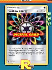 2x Rainbow Energy (SM) - for Pokemon TCG Online ( DIGITAL ptcgo in Game Card)