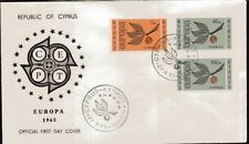 [CF7286] Chipre 1965, FDC Europa (NS)