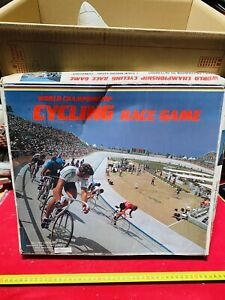 CYCLING RACE GAME VINTAGE,NUOVO!GIOCO IN SCATOLA