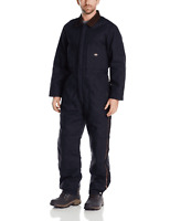 Dickies Men's Premium Insulated Duck Coverall in Navy 1048 Size M