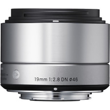 Sigma 19mm f2.8 DN Silver Art Series Lens: MICRO FOUR THIRDS CA2565
