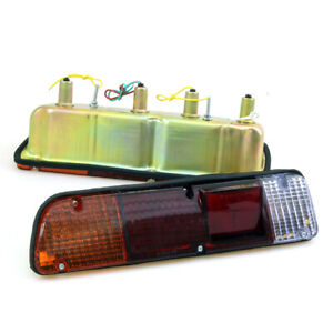 NEW REAR TAIL LIGHTS LAMP SET LH RH FIT DATSUN NISSAN 610 620 PICKUP TRUCK 72-79