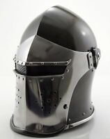 Medieval Barbute Helmet Armour Helmet Roman Knight Helmets With exp shipping