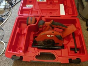 Hilti SCM 22-A Circular Saw With Case And Battery