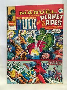 Mighty World of Marvel #239 Planet of the Apes Marvel Comics UK Magazine 1977
