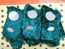 Liz Claiborne 6 Pair Women's Warm Comfy At Home Slipper Socks Green MSRP $ 24
