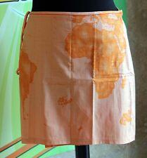 Prima Classe copri costume arancio pareo cotone Alviero Martini M L S