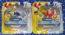 Lugia and Ho oh Pokemon Action Figure Set by Jakks Pacific New MISP USA Seller