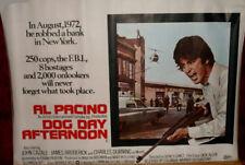 Cinema Poster: DOG DAY AFTERNOON 1975 (Quad) Al Pacino